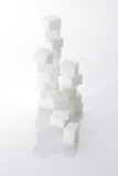 Tower of sugar cubes