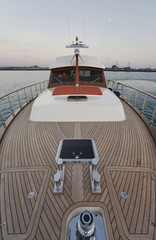 Italy, Lazio, Tirrenian sea, Morgan 70' Lobster luxury yacht