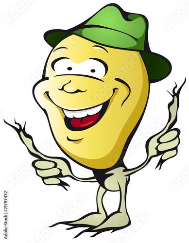 Lachende Kartoffel