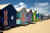 Fototapety Beach Huts