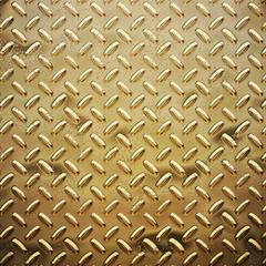 rough gold diamond plate