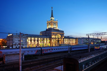 Railway Station of the Volgograd