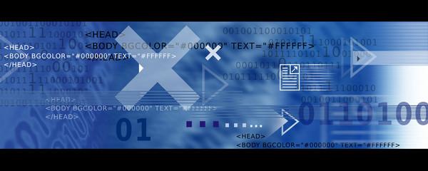 Bannière / Header - Internet et Informatique en Bleu
