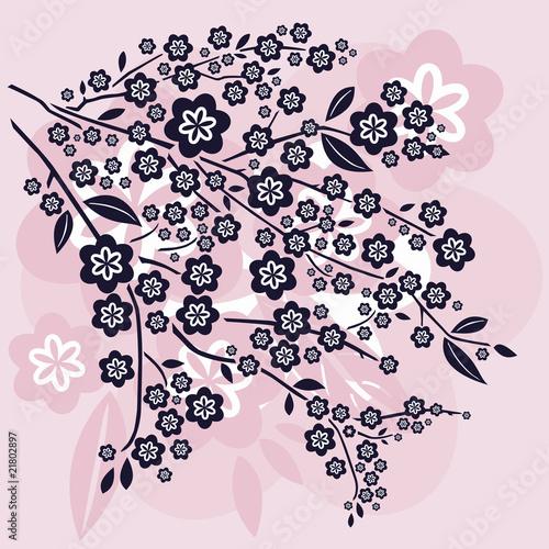 Comment dessiner des fleurs de cerisier - Comment dessiner une fleur ...
