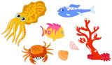 Sea creatures 2 poster