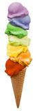Fototapety ice cream regenbogen