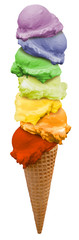 ice cream regenbogen