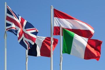 Bandiere di paesi europei