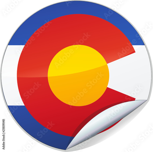Sticker du Colorado (détouré)