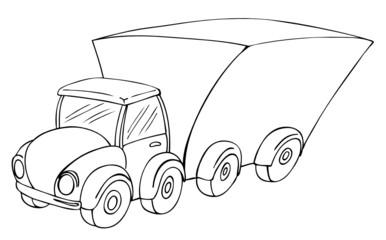 LKW, Umzug, Transport, Truck, Lastwagen, Transporter