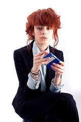 Jeune fille et Cigarette