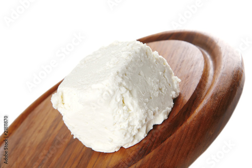 goat cheese on board