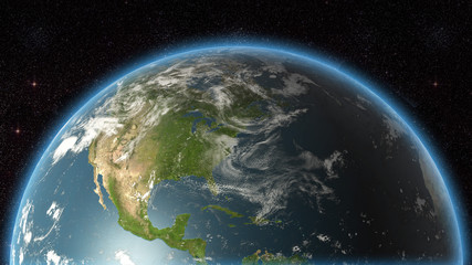 USA view Earth (huge res)