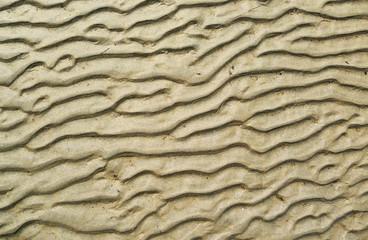 Beach sand ripples background