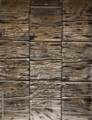 Foto: tavole di legno
