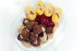 Sweedish Kottbullar meatball with brunsas sauce, boiled potatoes