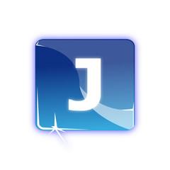 Picto lettre J - Icon letter j