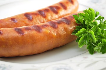 cheese sausages