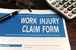 insurance: blank work injury claim form