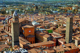 Italy, Bologna aerial view from Asinelli tower. - Fine Art prints