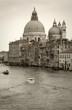 Quadro Venice: S.Maria della Salute church along Canal Grande