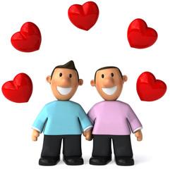 Couple homosexuel