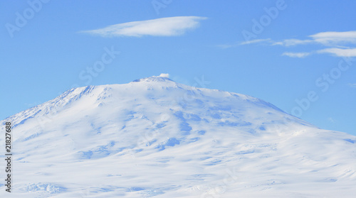 Papiers peints Antarctique A picture of Mount Erebus, Antarctica