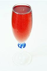 coupe de rosé pétillant
