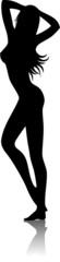 Donna Sensuale Silhouette-Vector-2