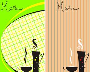 Cafe menu_cloth