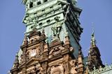 Rathaus der Freien und Hansestadt Hamburg Detailaufnahme - 21832460