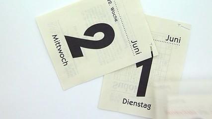 Kalender - Calendar - Time Concept