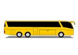 Coach bus poster