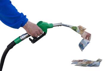 Gasoline, money flow, rising prices