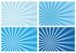 blue burst rays background, eps10 format,