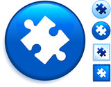 Puzzle Icon on Internet Button