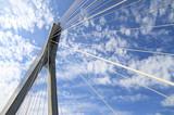 Fototapeta Fototapety mosty linowy / wiszący - Most Świętokrzyski © Paweł Sławiński