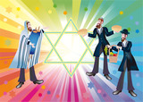 Talent of Tory or Simchat-Torah (Shmini-aceret) poster