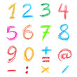 Crayon numbers