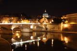Rome, nocturne poster