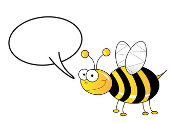 Bee speaking