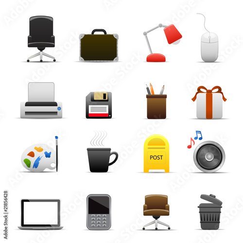 Shiny Office Icons