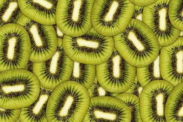 Fresh juicy kiwi fruit background