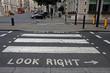 Pedestrian zebra crossing in London - 21857445