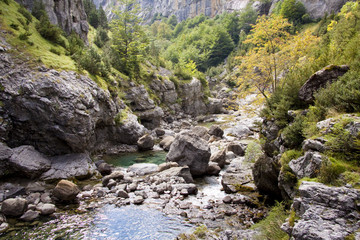 River Bellos in Canyon Anisclo