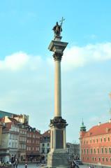 Column of Zygmunt in Warsaw, Poland