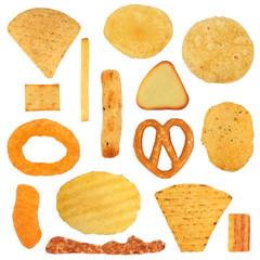 Junk Food Snack Selection