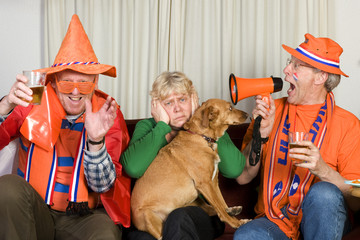 Dutch soccer fans