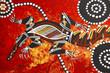 Quadro Aboriginal style design