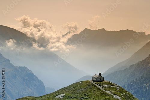 Mountain chapel in Gran Paradiso